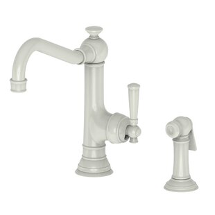 +22. Newport Brass. Jacobean Single Handle Kitchen Faucet