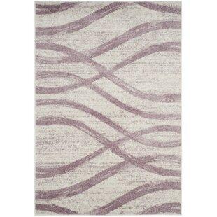 Marlee Cream Purple Area Rug