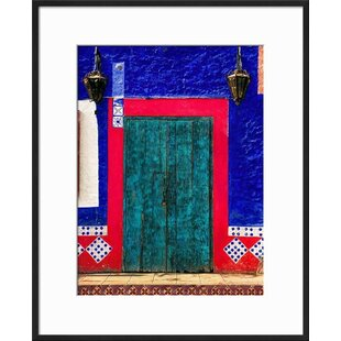 u0027Detail of Colorful Wooden Door and Step Cabo San Lucas Mexicou0027 Framed Photographic Print  sc 1 st  AllModern & Modern u0026 Contemporary San Diego Wall Art   AllModern