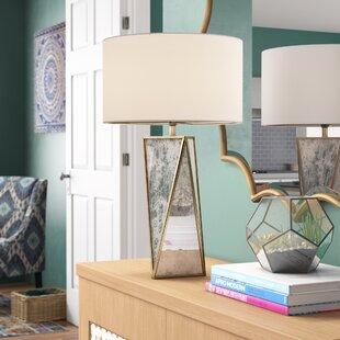 Melany Aluminium and Glass 20 Desk Lamp