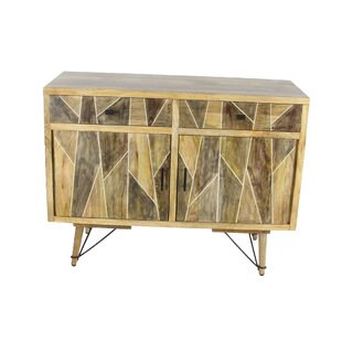 Opperman Geometric Accent Cabinet by Union Rustic