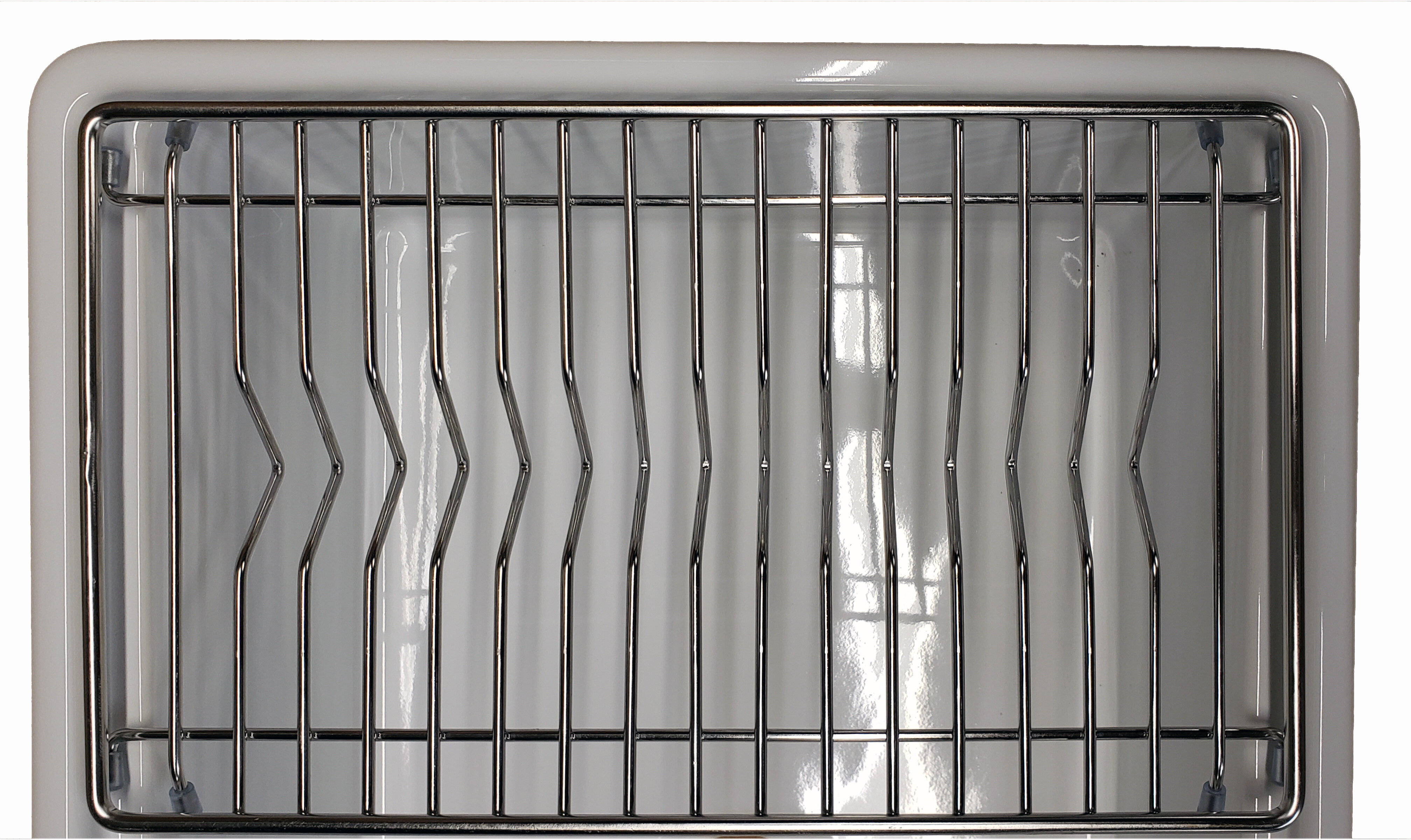 Empire Industries Tosca Stainless Steel In Sink Dish Rack