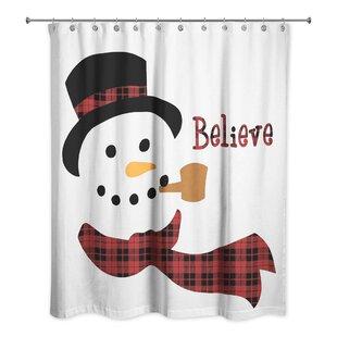 Snowman Shower Curtain Wayfair