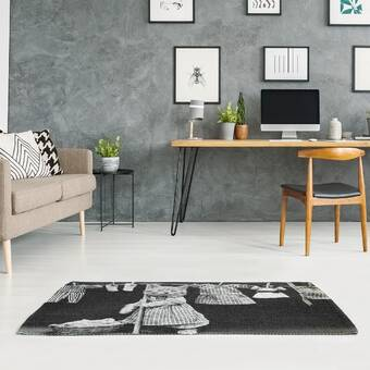East Urban Home Handwritten Live Laugh Love Quote Poly Chenille Rug Wayfair