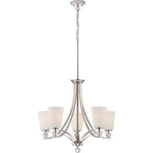 Reviews Gace 5-Light Shaded Chandelier By Willa Arlo Interiors