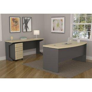Ebern Designs Kimura 3 Piece Desk Office Suite