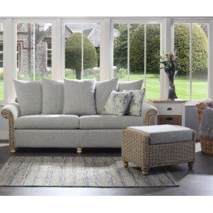 Sales Alison 2 Piece Conservatory Sofa Set
