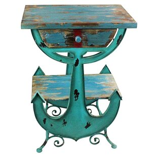 Anchors Aweigh Coastal End Table by Design Toscano