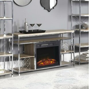 Halbert 35 inch  TV Stand with Fireplace