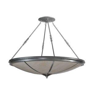 Meyda Tiffany Commerce 8-Light Semi-Flush Mount