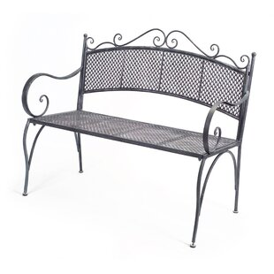 Melrose International Metal Bench