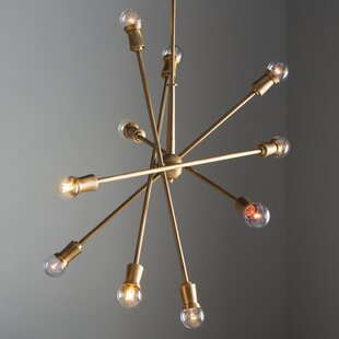 Wade Logan Modena 10-Light Chandelier