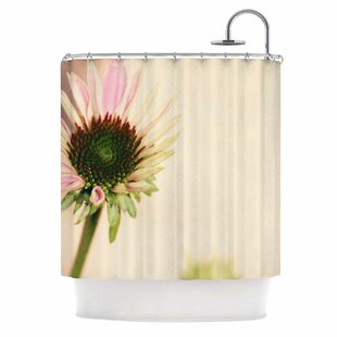 Flower Single Shower Curtain by East Urban Home