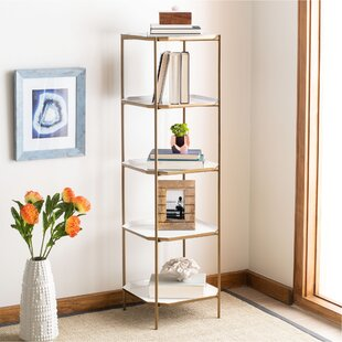 Shamrock 5 Tier Etagere Bookcase