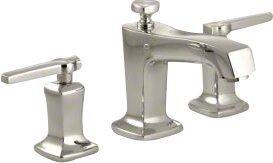 Margaux Widespread Bathroom Faucet with Drain Assembly