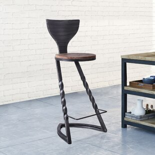 Orme Metal 28.35 Bar Stool - set of 2 (Set of 2) by Williston Forge