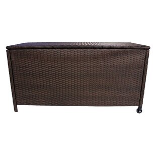 India Wicker Deck Box
