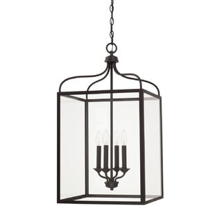 Molena 4-Light Lantern Pendant by Ophelia & Co.