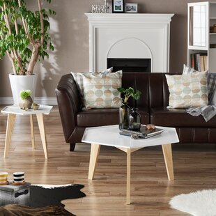 Eteuati 2 Piece Coffee Table Set