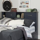 Ulysses Full Bookcase Headboard by Three Posts Baby & Kids