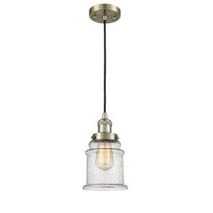 Longshore Tides Evalyn 1-Light Bell Pendant