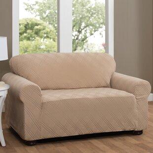 Red Barrel Studio Double Diamond Sensations Box Cushion Sofa Slipcover