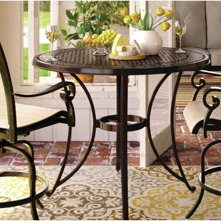 Metal Bar Table by Darby Home Co