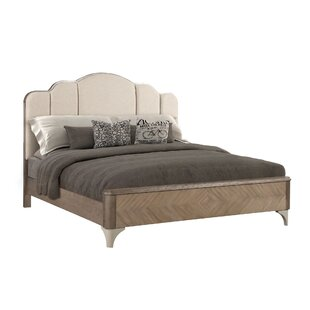 Waterfall Upholstered Panel Bed by Fairfax Home Collections