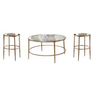 Best Price Lonerock 3 Piece Coffee Table Set ByBirch Lane™