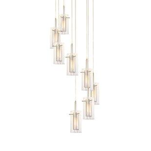 Swan Contemporary 8-Light Pendant by Orren Ellis