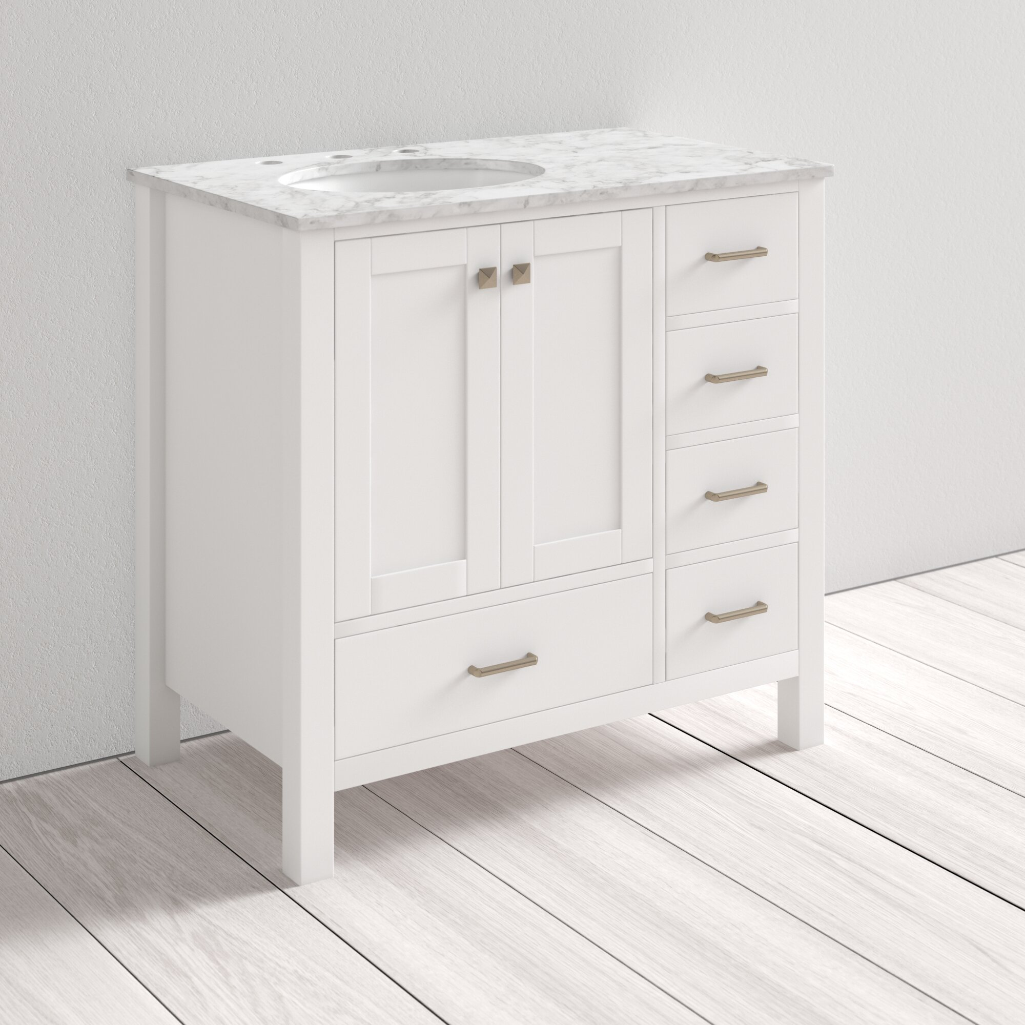 Juno Full Cabinet 36 Single Bathroom