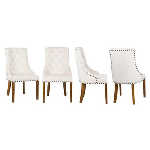 Valeria Upholstered Dining Chair (Set Of 6) By BelleFierté