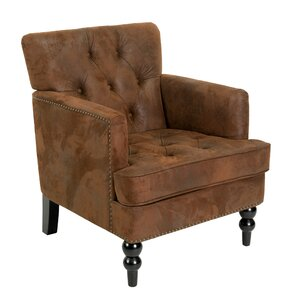 Malone Tufted Armchair by Home Loft Concepts