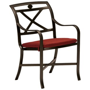 Palladian Patio Dining Chair With Cushion by Tropitone Great Reviews