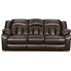 Houle Reclining Sofa by Simmons Upholstery  sc 1 st  Wayfair : brown leather reclining sofa and loveseat - islam-shia.org