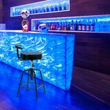 Maplecrest Swivel Adjustable Height Bar Stool by Latitude Run