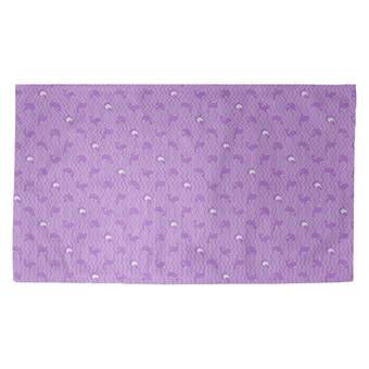 Latitude Run Avicia Whales Purple Area Rug Wayfair Ca