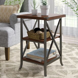 Justina End Table by Laure..