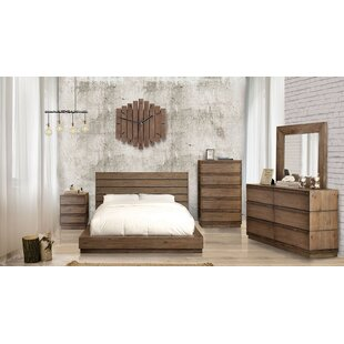Pisani California King Panel Configurable Bedroom Set by Union Rustic