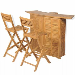 Beedle 3 Piece Bar Set By Sol 72 Outdoor
