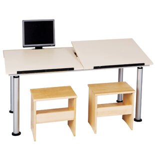 ALTD-3 Adaptable Drafting Table by Diversified Woodcrafts