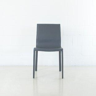 Montufar Leather Upholstered Dining Chair By Orren Ellis