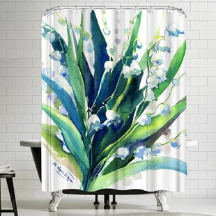 Suren Nersisyan Lilies of the Valley Suren 2 Single Shower Curtain