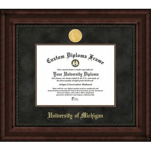 NCAA Michigan Wolverines Executive Diploma Frame By Campus Images