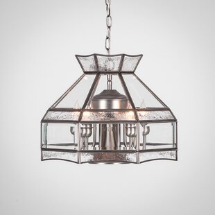 Red Barrel Studio Nessa 6-Light Candle-Style Chandelier
