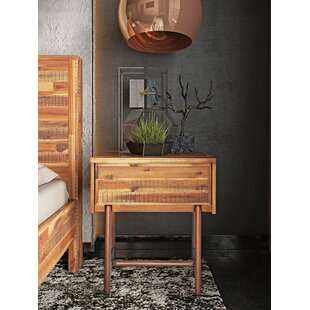 Great choice Clover 1 Drawer Nightstand by Foundry Select