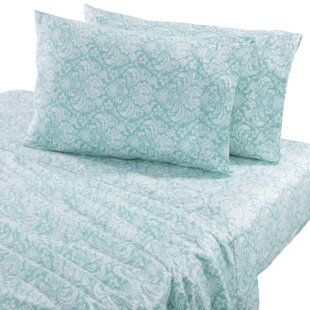 Sinclair Damask 300 Thread Count Cotton Sheet Set