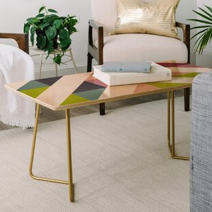 East Urban Home Patchwork Spring Coffee Table