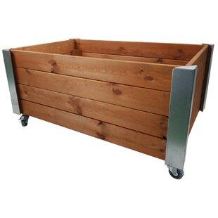 Racine Wood Planter Box By Freeport Park