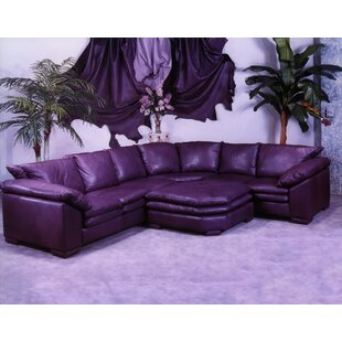 Omnia Leather Fargo Leather Sectional
